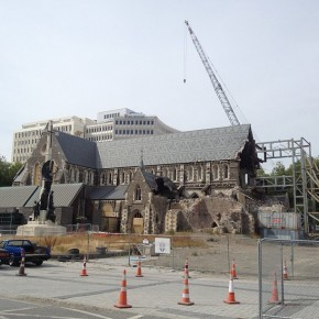Christchurch Cathedral on track for recovery